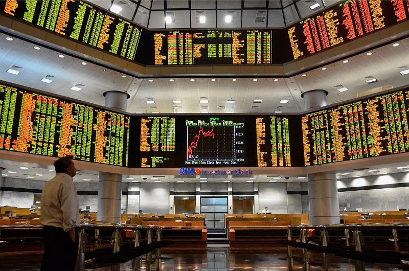 For the trading week just ended, the local bourse mostly moved in the red zone, dominated by the rising political unease and global resurgence of Covid-19 cases. — Malay Mail pic