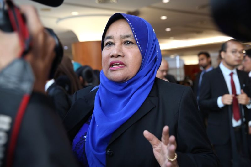 Umno supreme council member Datuk Rosni Sohar tendered her resignation from the board of the National Higher Education Fund Corporation (PTPTN). ― File picture by Choo Choy May