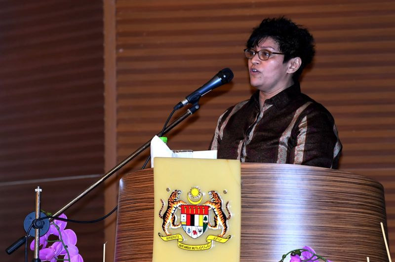 Datuk Seri Azalina Othman Said said the removal of the mandatory death penalty for drug convictions did not mean that the government was being soft on drug abuse. — Bernama file pic