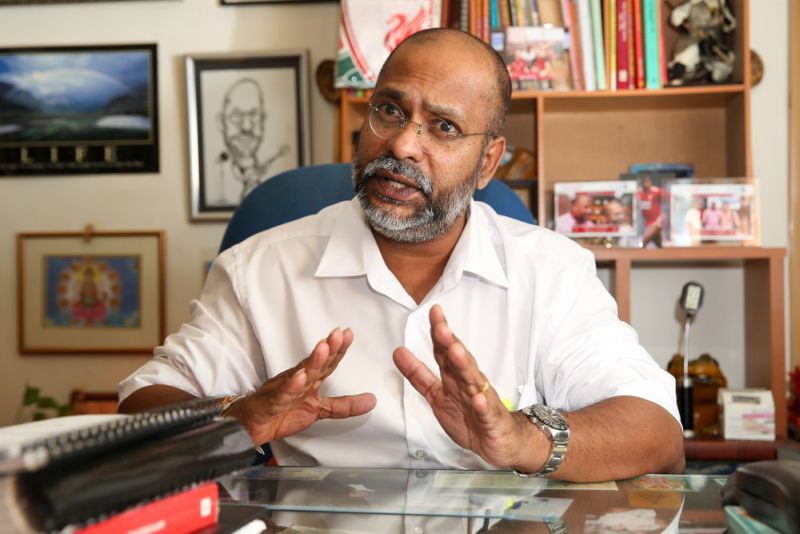 EDICT spokesman M. Visvanathan says it's not true that only guilty people die in custody. — Picture by Choo Choy May