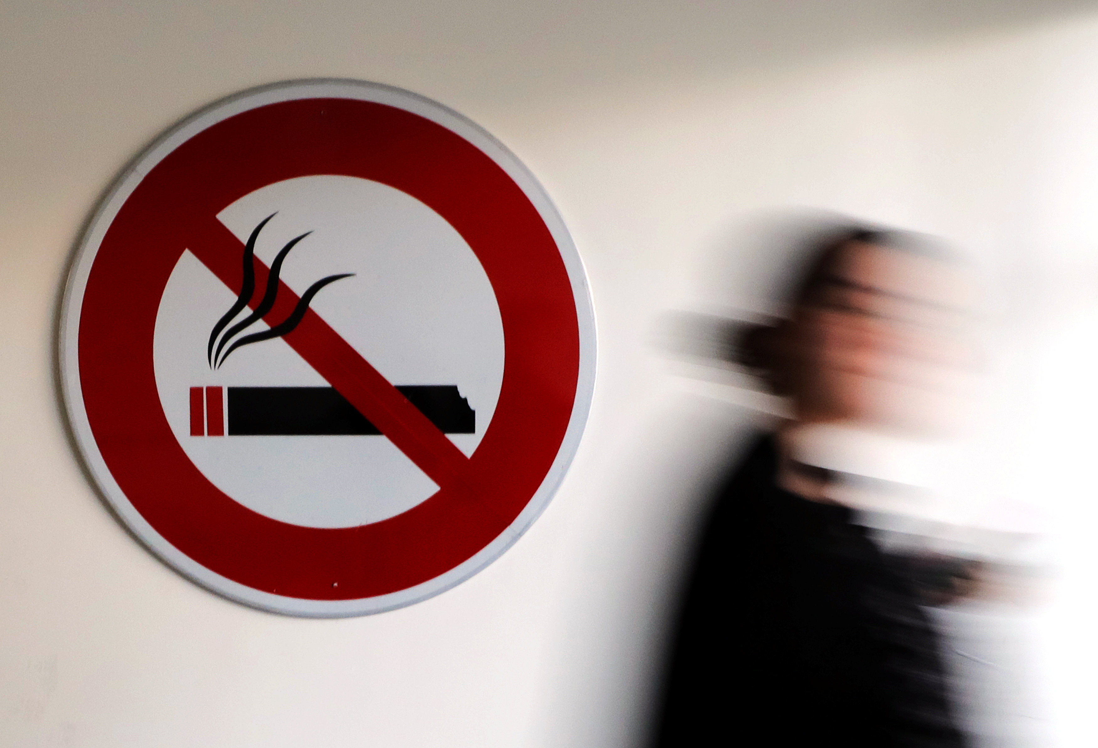 Health director-general Noor Hisham Abdullah said all food premises have been gazetted as no-smoking zones, effective from midnight tonight. — Reuters pic