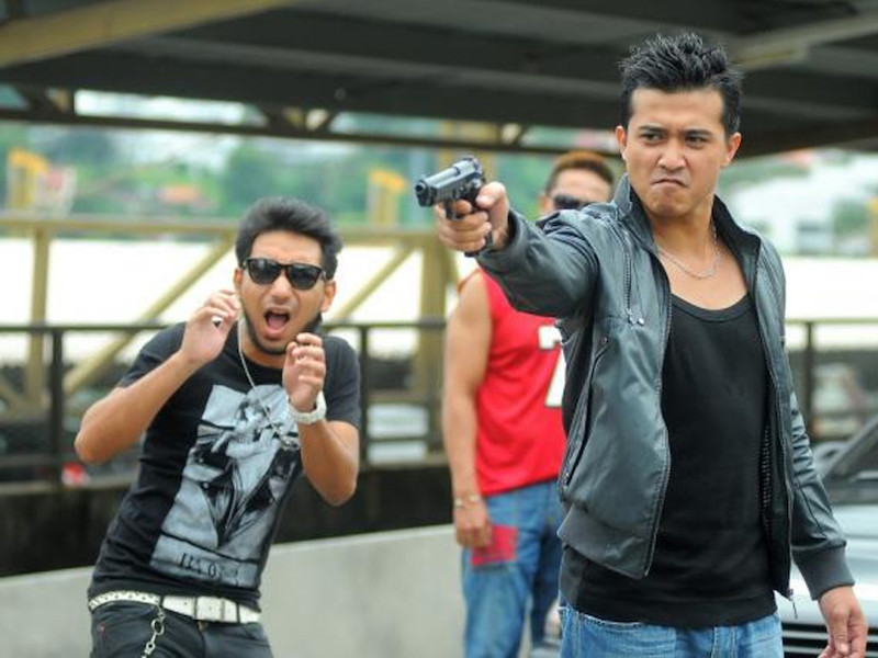 Screengrab from the movie 'KL Gangster 2'.