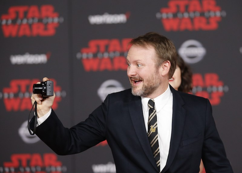 Director Rian Johnson at the world premiere of 'Star Wars: The Last Jedi' in Los Angeles, December 10, 2017. — Reuters pic