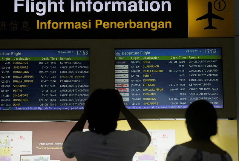 Indonesia last month stopped issuing visas for foreigners who had been in India in the previous 14 days. — Reuters pic