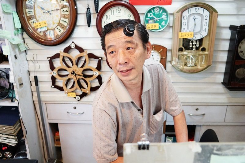 Watch shop owner Hwan Man Lee, 60, speaks to Malay Mail at his shop in Ampang Park shopping centre in Kuala Lumpur.