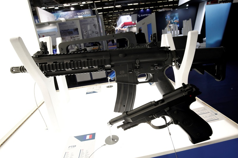 Gun rights continues to be a polarising issue in the US. — Reuters pic
