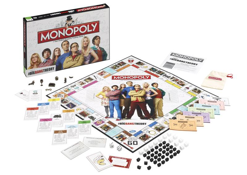 Geeks rule in 'The Big Bang Theory' Monopoly. — Picture courtesy of Hasbro via AFP
