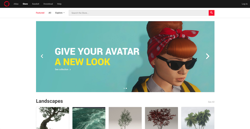 Social virtual reality platform Sansar is launching an online market for user-created avatar clothing. — Screengrab via AFP