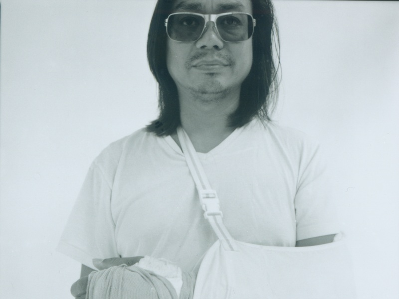Rirkrit Tiravanija portrait by Anette Aurell. — Picture courtesy of National Gallery Singapore