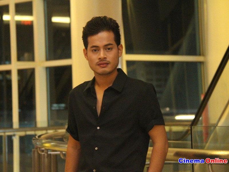 Syafie Naswip is ready to face criticism over his acting in 'Jibam'. — CinemaOnline pic