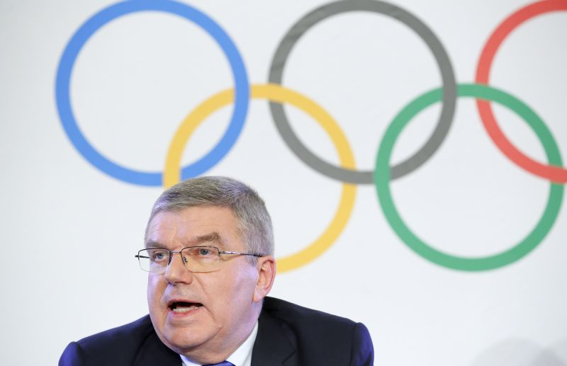 IOC president Thomas Bach said North Korea's decision to take part in the Winter Olympics in the South was a 'great step forward'. ― Reuters pic