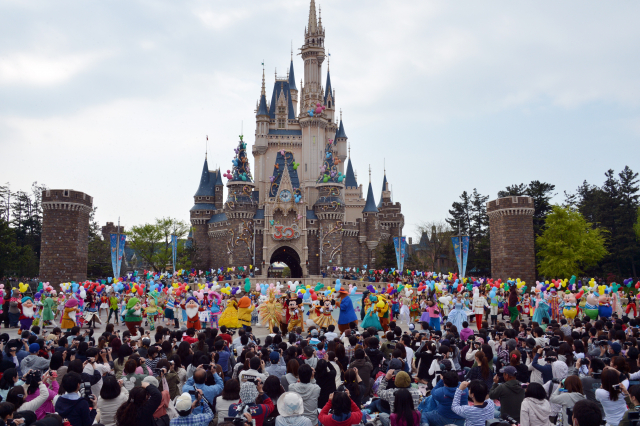 The third Disney amusement park will join its existing Disneyland and DisneySea. — AFP pic