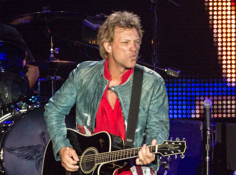 Jon Bon Jovi hits the hot-button social issues of America in his latest album '2020'. — AFP pic