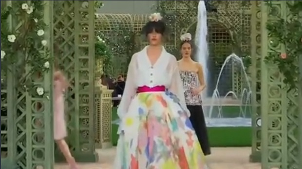 Many aspiring young models from eastern Europe dream of wearing haute couture and strutting down the catwalks of Paris Fashion Week. — Screen capture via Reuters