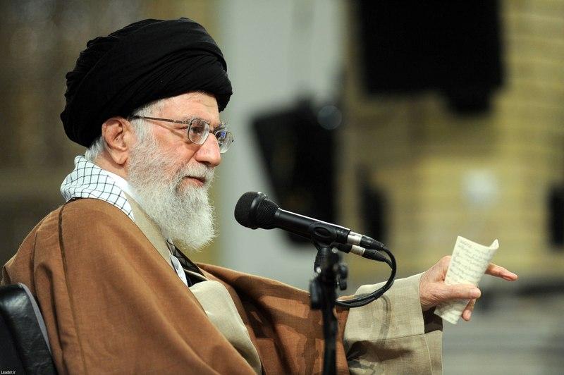 Iran's Supreme Leader Ayatollah Ali Khamenei granted clemency to convicts chosen by the judiciary for the Eid al-Adha and Eid al-Ghadir holidays.. — Leader.ir/Handout via Reuters