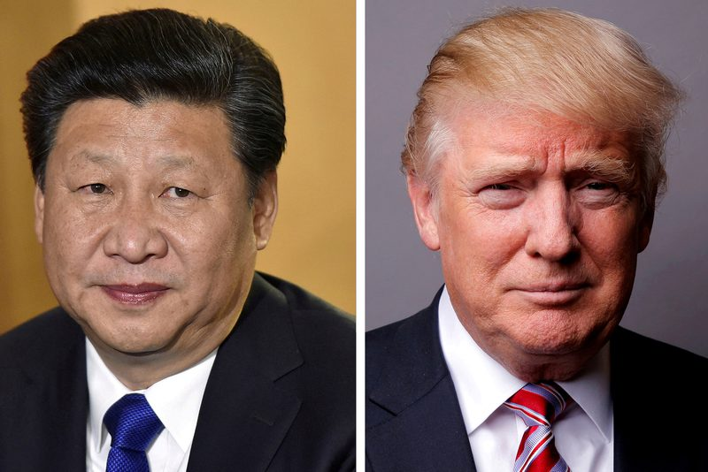 US President Donald Trump (right) has repeatedly said he is getting ready to meet his China counterpart Xi Jinping in Osaka at the end of June, but China has not confirmed it. — Reuters pic