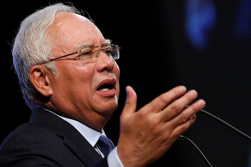 Datuk Seri Najib Razak has been publicly making statements refuting Lim Guan Eng's revelations . — Picture by Yusof Mat Isa