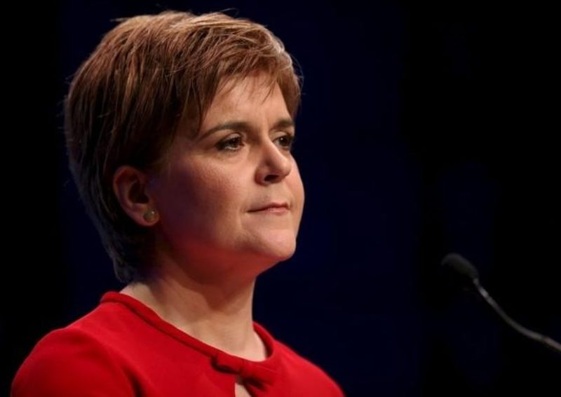 Scotland's First Minister aNicola Sturgeon says she plans to hold a legal referendum despite Westminster's opposition. — Reuters pic