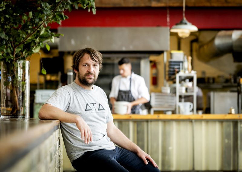 Danish chef Rene Redzepi has launched a contest in which donors can win the chance to dine at the restaurant on opening night in February. ― AFP pic