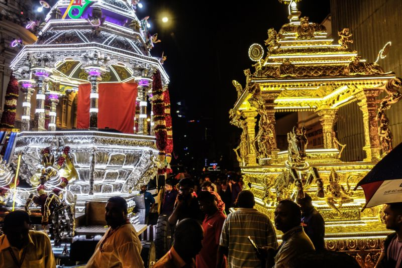 Inspector-General of Police Tan Sri Abdul Hamid Bador said PDRM would monitor the route of the chariot from the Sri Maha Mariamman Temple, Jalan Tun H.S. Lee, here, to the Sri Subramaniaswamy Temple in Batu Caves. ― Picture by Shafwan Zaidon