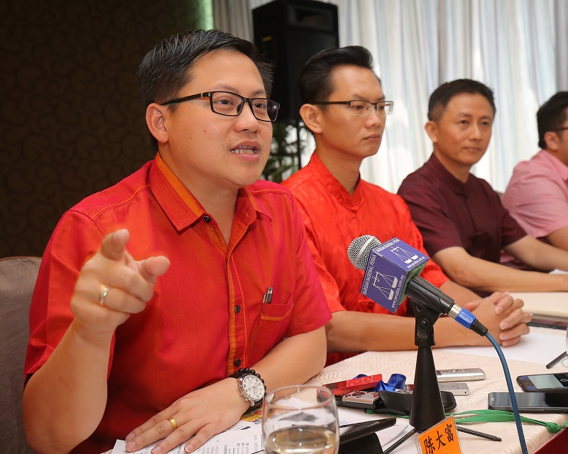 Perak MCA Youth chief Ting Tai Fook said a mass exodus from the party would not achieve anything. — Picture by Marcus Pheong