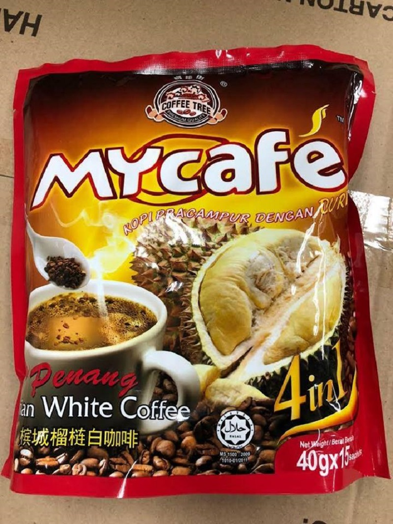 It was reported that five individuals experiencing extreme fatigue and weakness while some also fainted after allegedly consuming Coffee Tree MyCafe '4-in-1 Penang Durian White Coffee'. — Picture via Facebook/Agri-Food and Veterinary Authority of Singapore