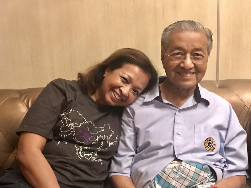 Marina said Dr Mahathir appreciated Malaysians' concern for his wellbeing. — File pic