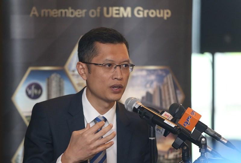 UEM Sunrise Berhad CEO Anwar Syahrin Abdul Ajib tendered his resignation today with immediate effect. — Picture by Razak Ghazali
