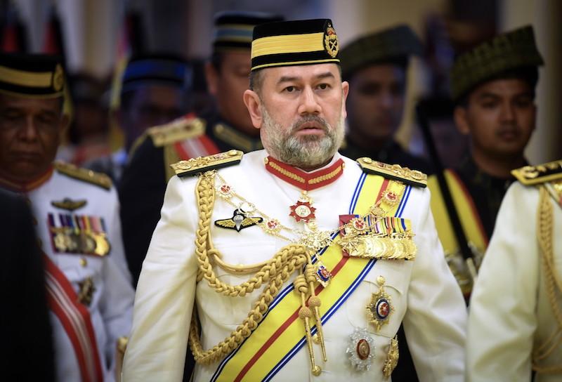 Sultan Muhammad V of Kelantan abdicated as the Yang di-Pertuan Agong on January 6. — Bernama pic