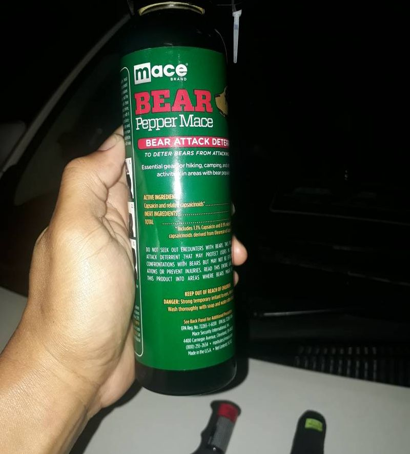 The can of pepper-spray seized following the drama Kuala Lumpur February 2, 2018. — Picture courtesy of KL Fire & Rescue Department