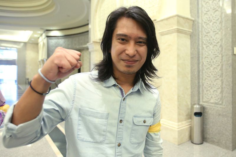 Adam Adli Abd Halim was one of the five activists acquitted and discharged by the Sessions Court in Kuala Lumpur today. — Picture by Azinuddin Ghazali