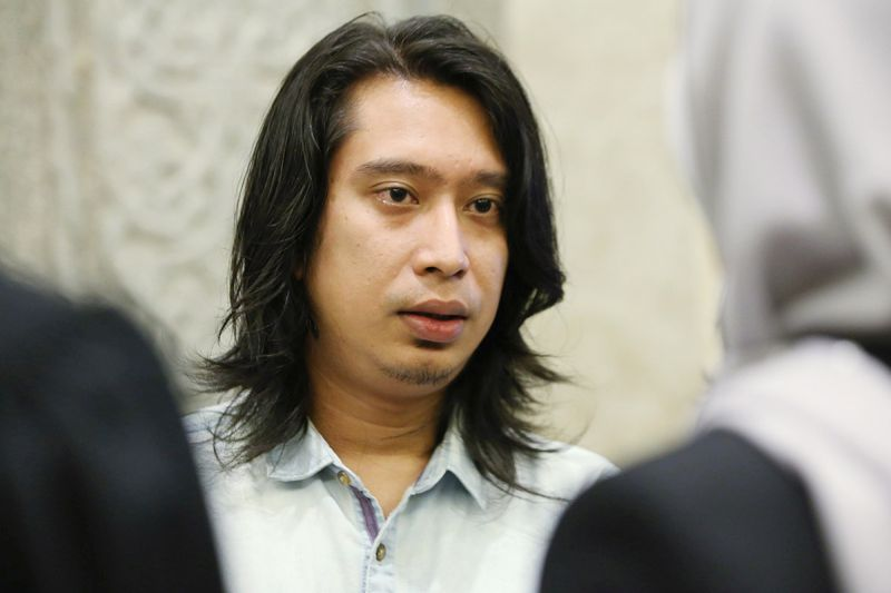 Social activist Adam Adli is pictured at the Palace of Justice, Putrajaya  on February 22, 2018. — Picture by Azinuddin Ghazali