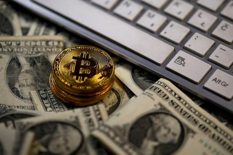 Bitcoin fell as far as US$33,447 (RM135,276), its lowest since January 6. — Reuters pic