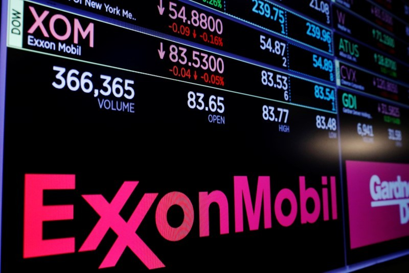 US oil giant Exxon Mobil committed the funds to Americans for Carbon Dividends that supports a 'gradually rising carbon fee.' — Reuters pic
