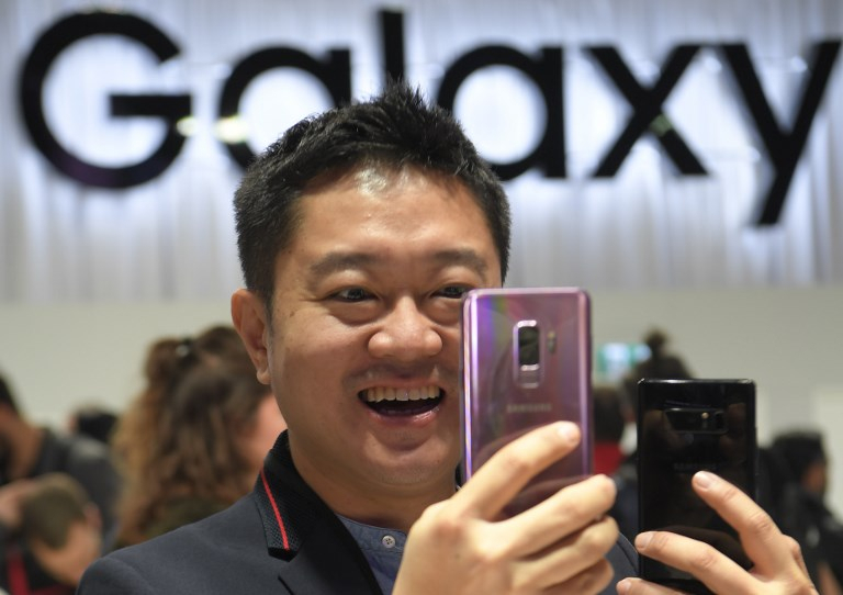 Samsung Galaxy S9 series didn't sell as well as the brand hoped. — AFP pic