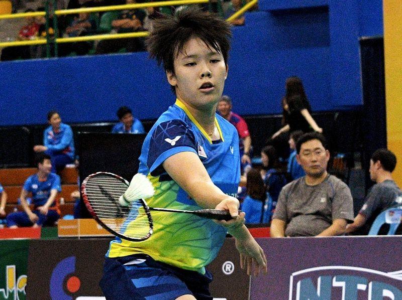 两届世青赛女单冠军吴堇溦,在暌别赛场一整年后,终于有机会出国参赛了。-马新社-