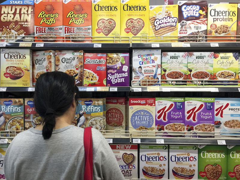 Malay Mail examined 10 popular breakfast cereal brands that are targeted at young consumers and found that only one qualified as low in sugar. — Picture by Yusof Mat Isa
