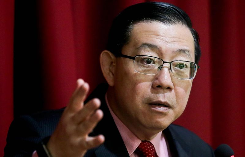 DAP's Lim Guan Eng said he will need to check on the letter of demand sent to him as he had yet to return to his office in Penang. ― Picture by Sayuti Zainudin