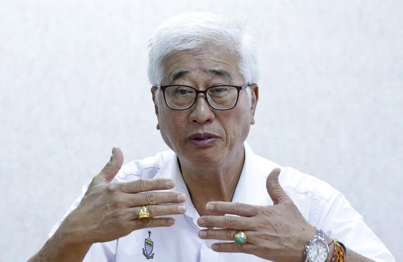 Penang state executive councillor Phee Boon Poh said while the recent installation of scanners to detect contents of containers at ports was a welcome move, it should be followed with more punitive measures. ― Picture by Sayuti Zainudin