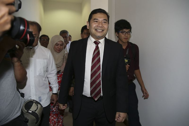 PKR's Rafizi Ramli gets 30 months in jail for leaking banking details relating to the the National Feedlot Corporation. ― Picture by Yusof Mat Isa