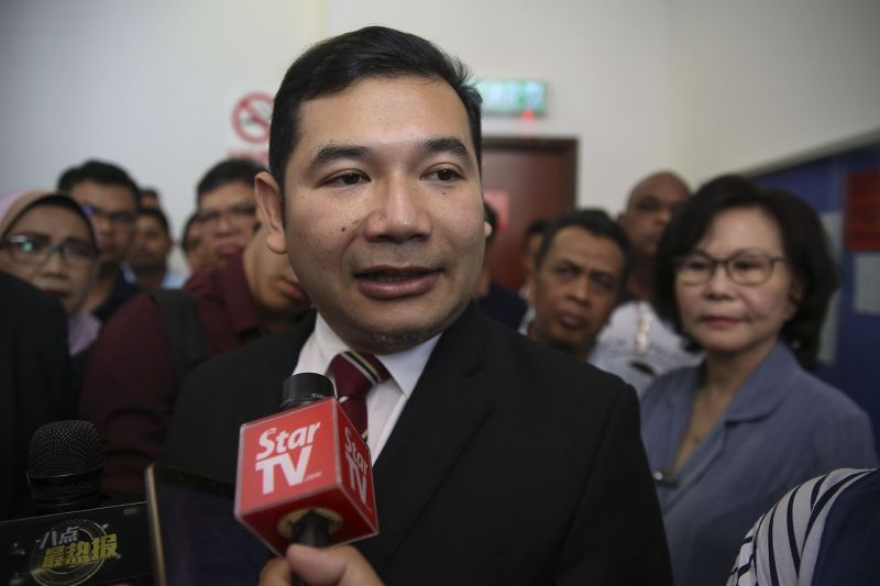 Rafizi Ramli said in a Facebook post that today's decision vindicated him of the allegations that he had tarnished the Muslim pilgrim's fund. ― Picture by Yusof Mat Isa