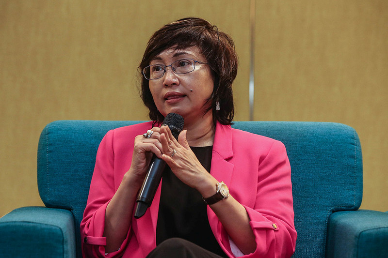 Yasmin said there was strong prevailing demand for data professionals. — Picture by Hari Anggara
