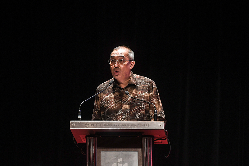Salleh Said will contest in Usukan. — Picture by Miera Zulyana