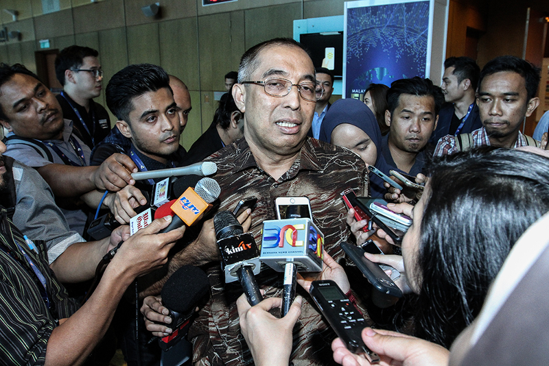 Sabah Umno has received an application from former Umno treasurer Datuk Seri Salleh Said Keruak to rejoin the party. — Picture by Miera Zulyana