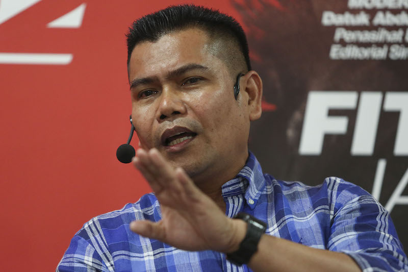 Sungai Besar division chief Datuk Seri Jamal Md Yunos said the polls result showed Umno's attempt to court support by vilifying the Pakatan Harapan administration had failed to gain traction. — Picture by Yusof Mat Isa