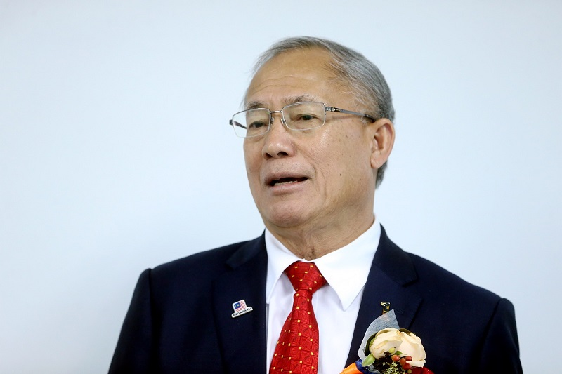 Serian MP Datuk Seri Richard Riot Jaem has officially joined PKR. — Picture by Zuraneeza Zulkifli
