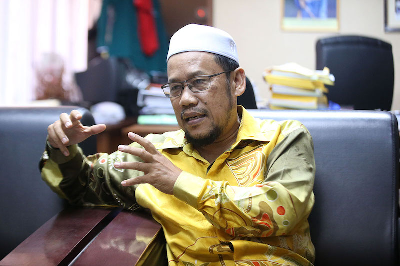 Datuk Che Abdullah Mat Nawi is seen during his interview with Malay Mail in Kota Baru March 22, 2018. — Picture by Azinuddin Ghazali
