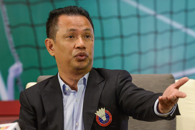 BAM president Tan Sri Mohamad Norza Zakaria pointed out that he aimed to complete Project 24 as well as ensure the national camp would achieve success in big tournaments. — Picture by Mukhriz Hazim