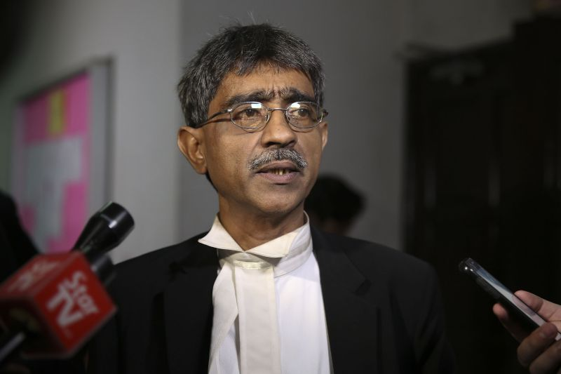 Lawyer Mohamed Haniff Khatri Abdulla has laughed off the suggestion of a plot to cause Anwar's downfall and suggest the conspiracy theorists submit their idea to a film studio. ― Picture by Yusof Mat Isa