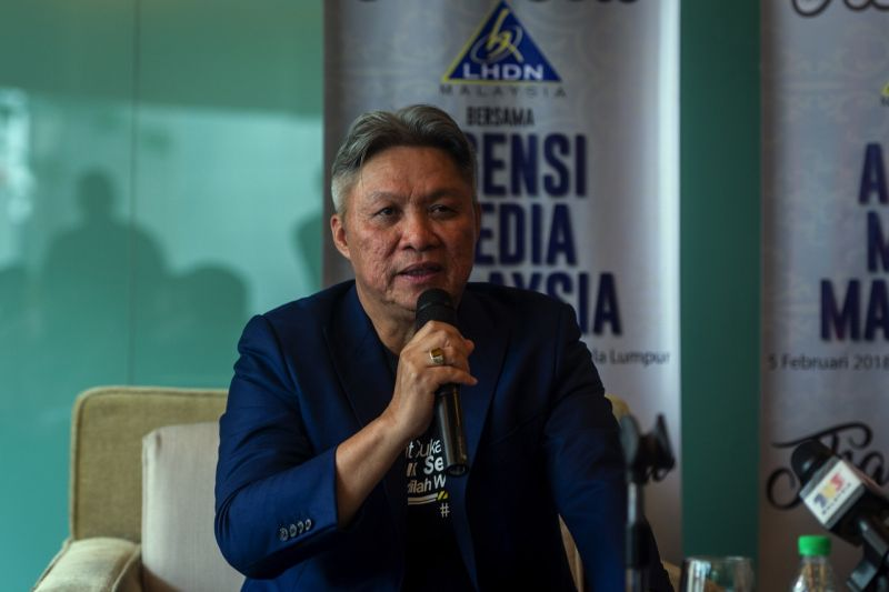 IRB chief executive Datuk Seri Sabin Samitah speaks to reporters during a press conference. ― Bernama pic